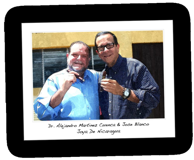 Dr. Alejandro Martinez Cuenca And Jose Blanco Of Joya De Nicaragua