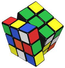 Il cubo di Rubik o cubo magico (Rubik-kocka in ungherese) è un celebre rompicapo inventato dal professore di architettura e scultore ungherese Ernő Rubik nel 1974