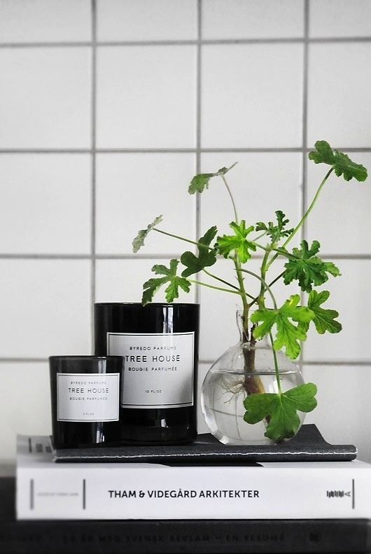 Byredo candles for those who go for the darker side