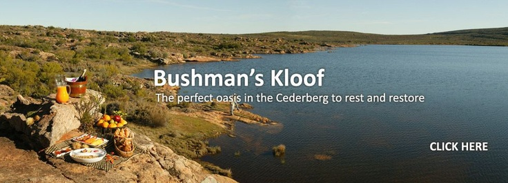 Bushmans Kloof Lodge near Clanwilliam