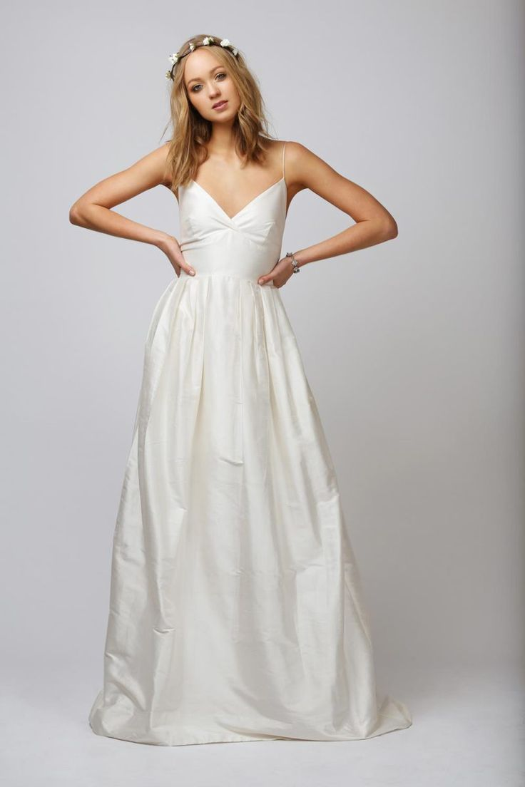 Incredibly Ethereal In Design The Sophia By Rue De Seine Is Made From 100 Silk Wedding Dresseswedding