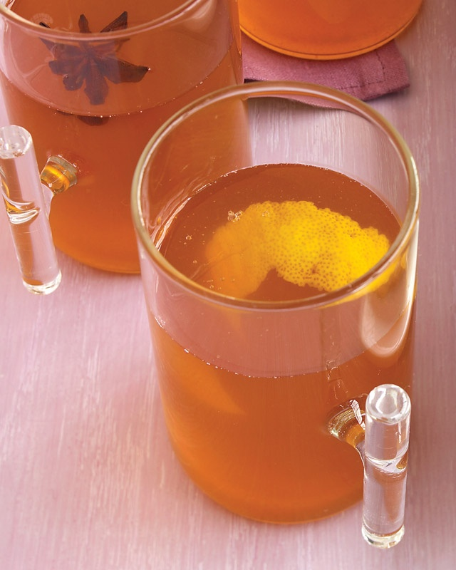 mulled cider - for open house on Sunday