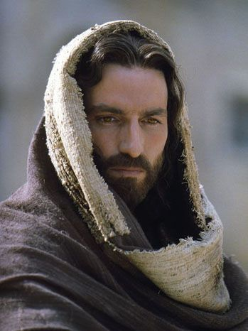 Jim Caviezel, Passion of the Christ (2004). I do not know what Christ looks like, but Jim did a great job.