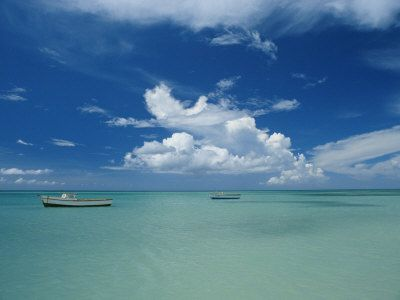 Clouds and Boats, Aruba