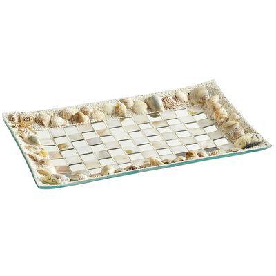Mosaic Seashell Pillar Plate