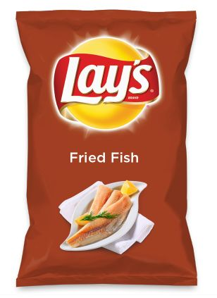 Wouldn't Fried Fish be yummy as a chip? Lay's Do Us A Flavor is back, and the search is on for the yummiest flavor idea. Create a flavor, choose a chip and you could win $1 million! https://www.dousaflavor.com See Rules.