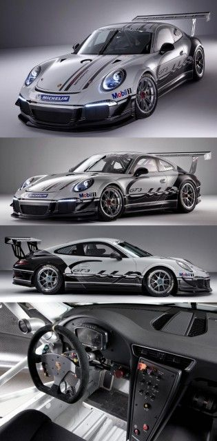 New Porsche 911 GT3 Cup Race Car for 2013