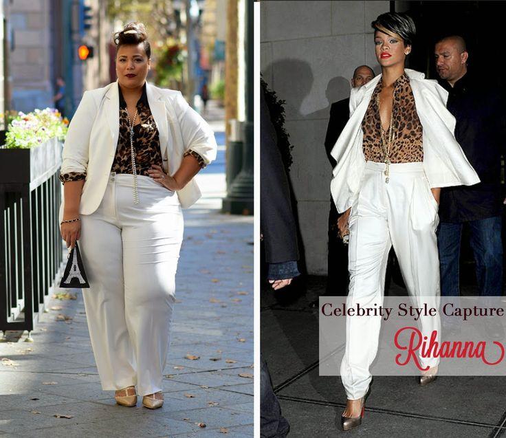 Celebrity Style Capture: Rihanna