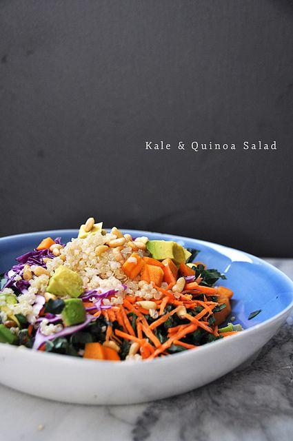 Kale_quinoa_salad_5 by Amanda Frederickson Smiley, via Flickr