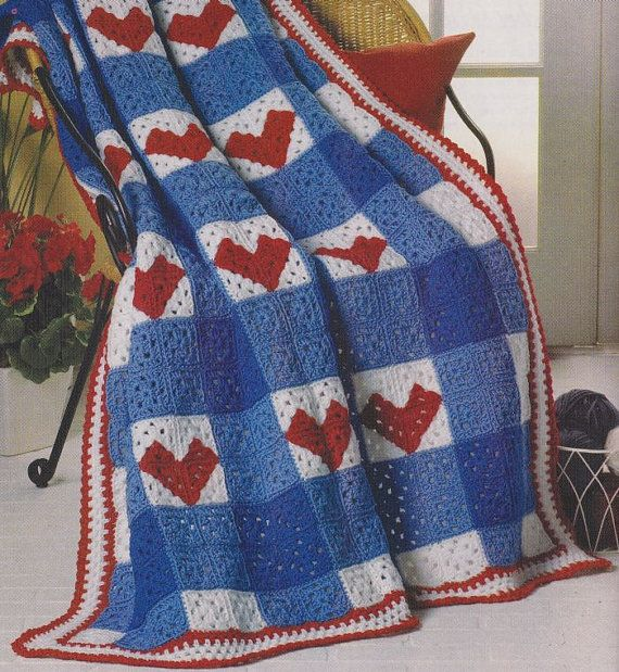 Crochet Afghan Patterns Quilt : 205 best images about Crochet-Quilt on Pinterest Free ...
