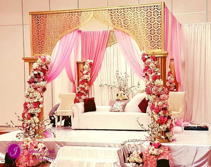 Best Wedding Planners In Dubai Fun Wedding Decor Wedding Stage Decorations Simple Wedding Table Decorations