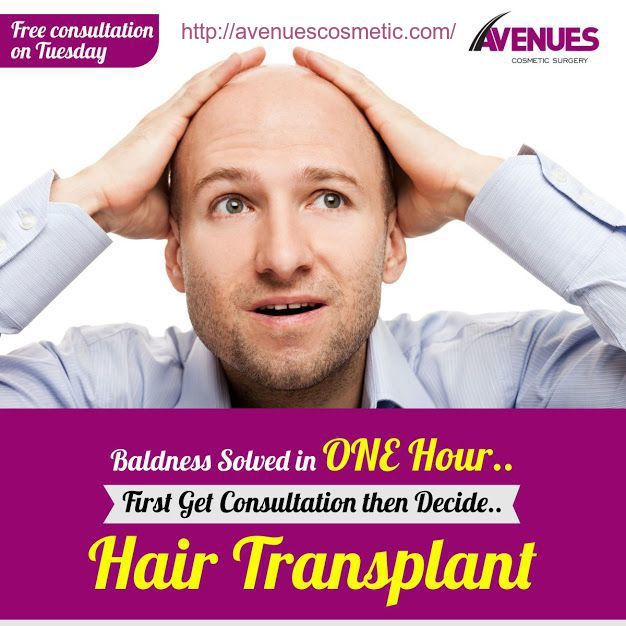 The patients facing the baldness problems are assured of a good treatment of baldness with the help of hair transplant in Ahmedabad, Gujarat. They are free of all the worries since they know they are having world-class treatment with some of the best hair transplant surgeons of the Avenues clinic. If you have not heard of hair transplant surgery yet, you must read further to know a little bit about this amazing procedure.