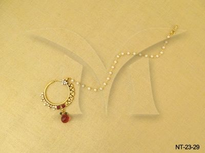 NT-23-29 || DIFFERENT SIDE STYLE ANTIQUE NATH