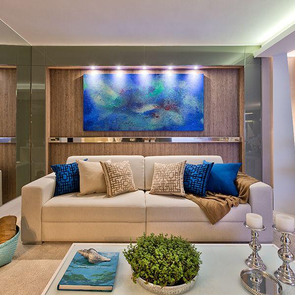 Sala De Estar Com Azul Marinho ~  Azul Marinho no Pinterest  Hale Navy, Paleta De Cores Cinza e Sala De