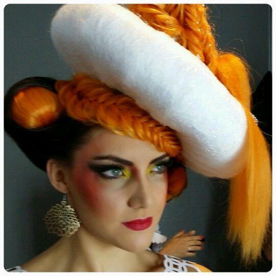 Hair Expo 2014. Makeup by Graduate Katrina Filippo