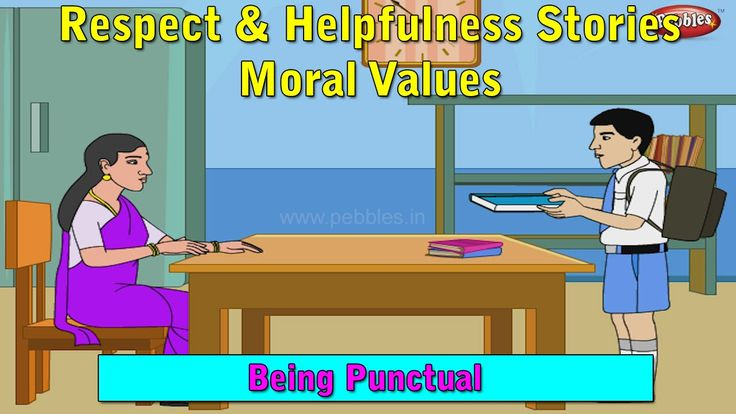 Punctuality  Moral Values For Kids  Moral Stories For -3036