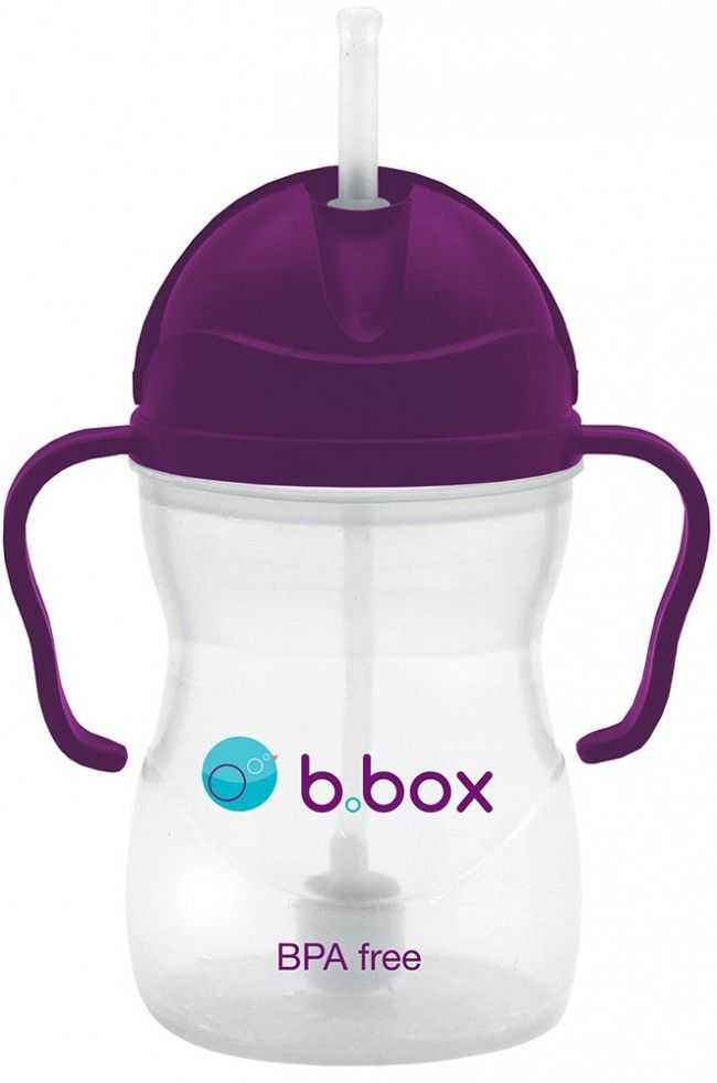 . The B.Box Sippy Cup encourages independent drinking skills, as the handles have been designed little ones to easily grip onto, and the flip-top lid is simple to use.