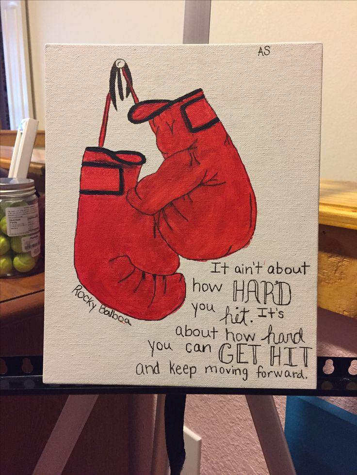 Rocky Balboa Quote/Art