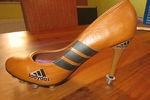 1  Fußball Pumps mit Stollen