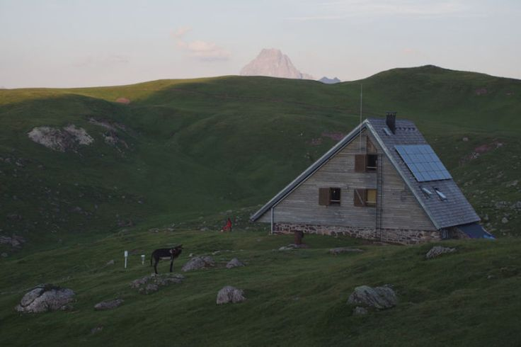 The Refuge of Arlet near Pic du Midi d'Ossau Pyrenees National Park in Laruns, France. Contributed by Nicholas Clark.