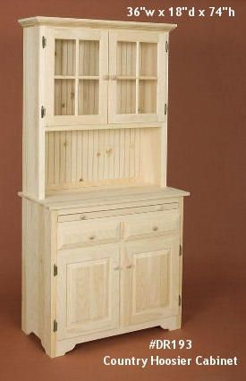 Unfinished Pine Furniture | Penn Dutch Furniture