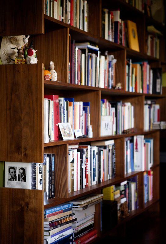 Lovely Hollywood Hills House Bookshelf  Stranger Furniture Home Design Ideas