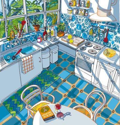 Illustratore Milano: Carlo Stanga > Interior design