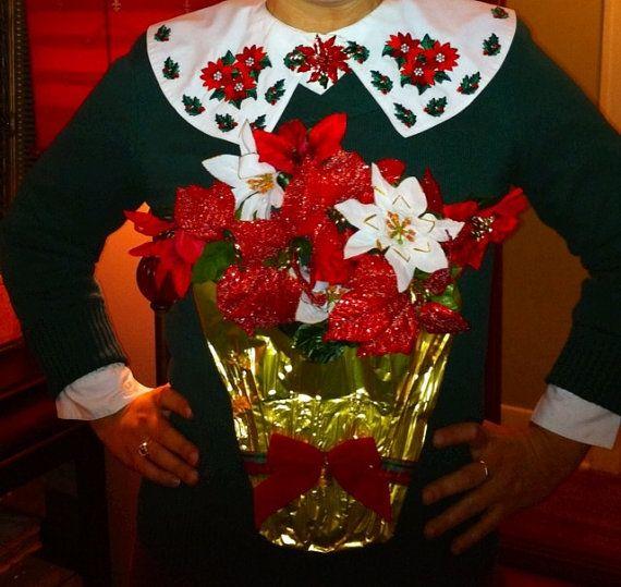 Ugly Christmas Sweater Women's Medium Large