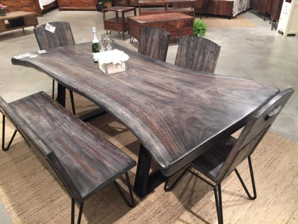 Live Edge Walnut Table Unique Dining Tables Live Edge Dining