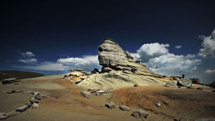 Natural sphynx, Bucegi mountains, Romania