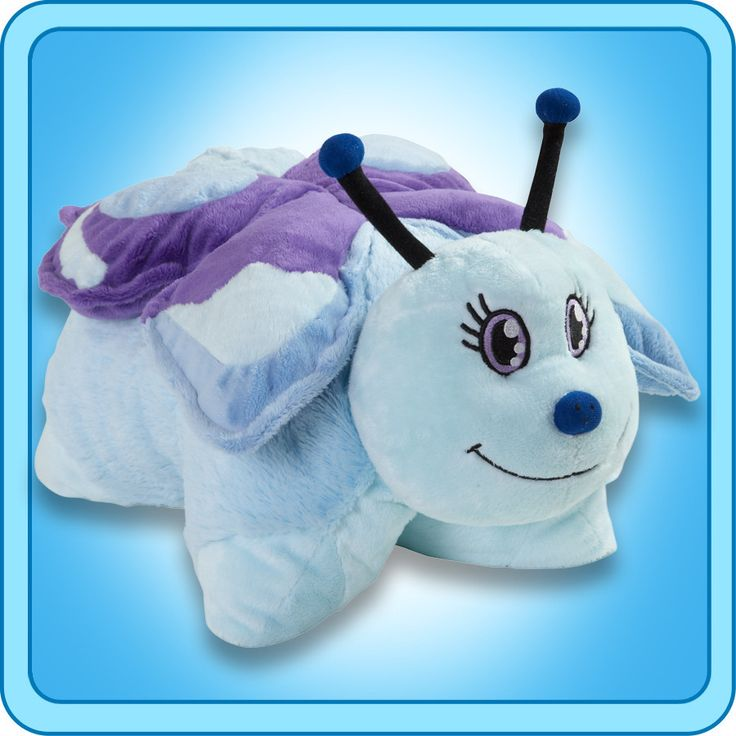 PeeWee Blue Butterfly | My Pillow Pets® Canada
