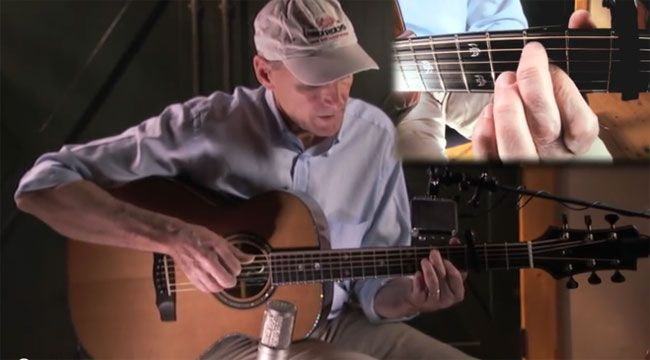 James Taylor's online free guitar lessons.
