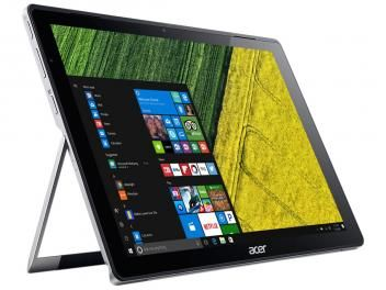 """Notebook 2 em 1 Acer Switch Alpha 12 Intel Core i5 - 8GB SSD 256GB LCD 12"""" Touch Screen Windows 10"""
