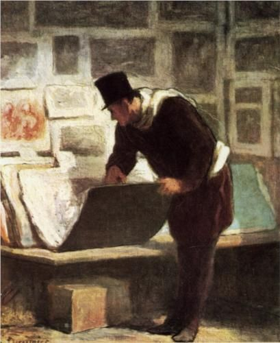 The Etching Amateur - Honore Daumier