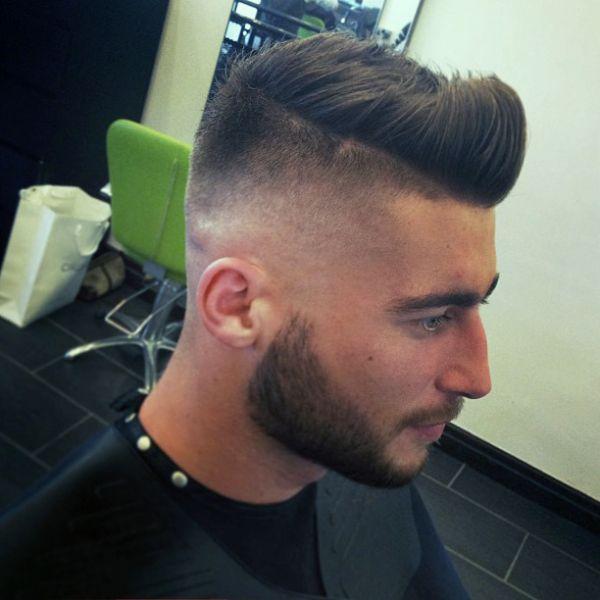 Fade Haircut White Men