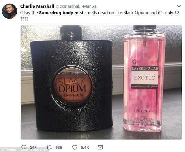 Rated As Good Designer £3 Perfumes Fragrance Superdrug's Just qpUzMVSG