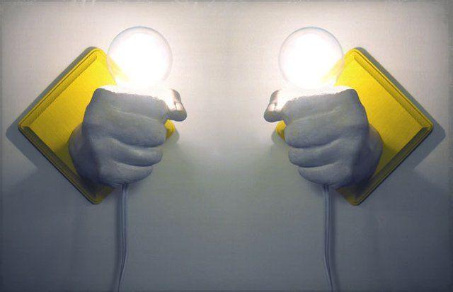 Wall Mounted Hand Bulbs