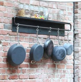 If Youre Looking For A Contemporary And Industrial Pot And Pan Rack For  Your Kitchen,