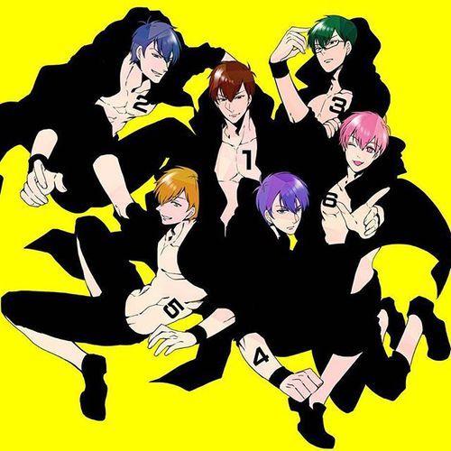Osomatsu-san- Osomatsu, Karamatsu, Choromatsu, Ichimatsu, Jyushimatsu, and Todomatsu #Anime「♡」F6