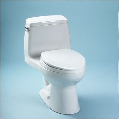Toto Ultimate Power Gravity Low Consumption 1.6 GPF Elongated 1 Piece Toilet & Reviews | Wayfair