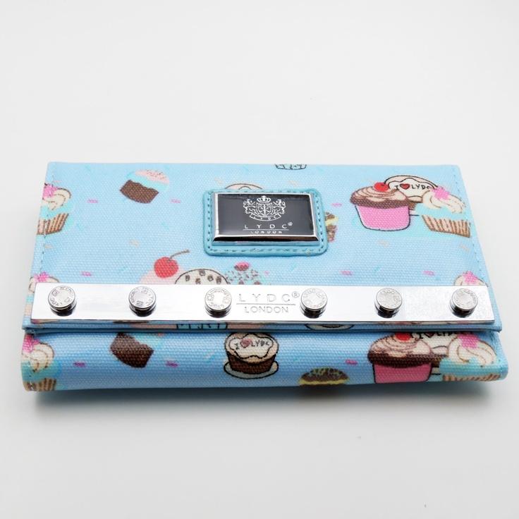 Blue LYDC cupcake print purse £9.95 x