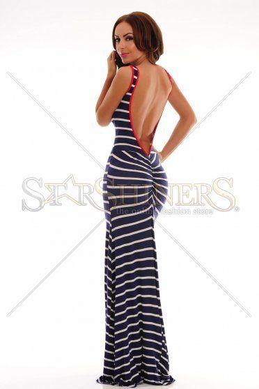 Everlasting Rows DarkBlue Dress
