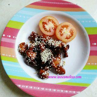 Resep Mudah Praktis : Ayam Panggang Tabur Wijen ~ Resep Inova Melisa