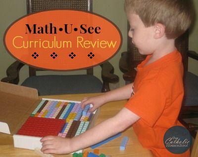 Curriculum Review: Math-U-See Primer, Alpha, & Beta