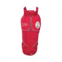 Abrigo Voile Rojo Para Perro