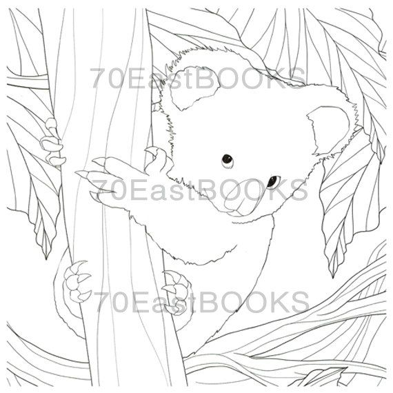 Small and Cute Baby Animals Coloring Book for adult : les