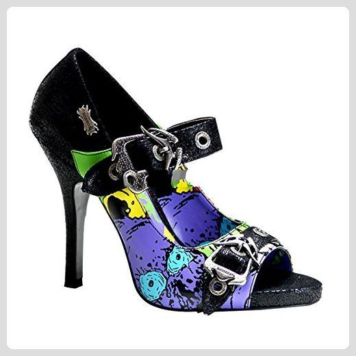 Demonia Zombie-09 - Gothic Punk Industrial Motiv-Print Schuhe 36-43, Größe:EU-41/42 / US-11 / UK-8 - Damen pumps (*Partner-Link)