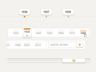 Design Tickle.com - Like the navigation concept