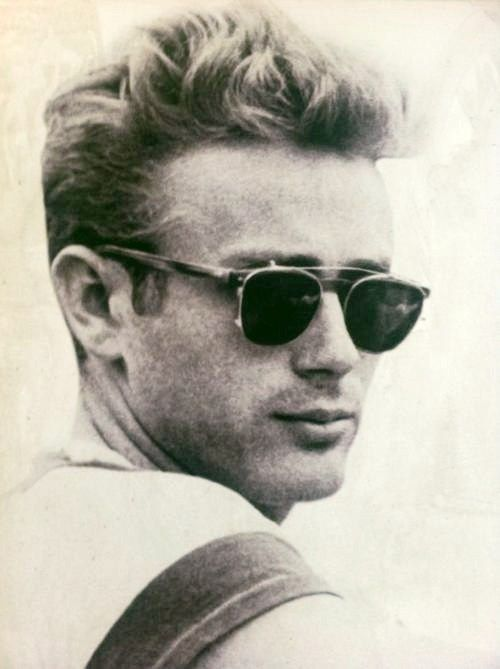 James Dean  want those sunnies!  and james dean of course.