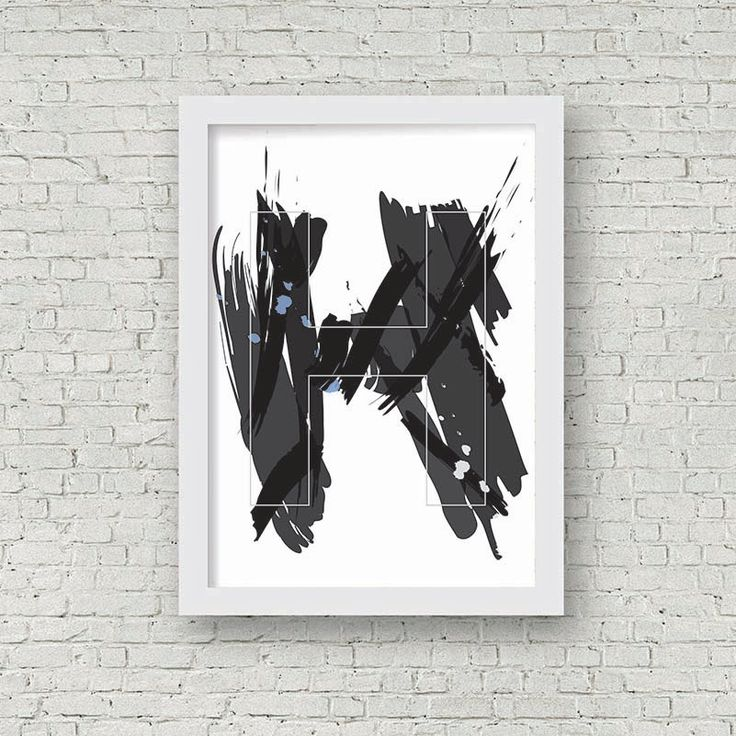 Child's Play - Initial Art Print (Available in any initial) by Printce on Etsy